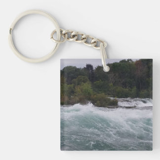 Sightseeing at Niagara Falls Key Ring