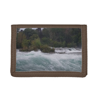 Sightseeing at Niagara Falls Trifold Wallet