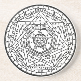 Sigillum Dei Aemeth (The sigil of Dei Ameth, Seal Drink Coaster