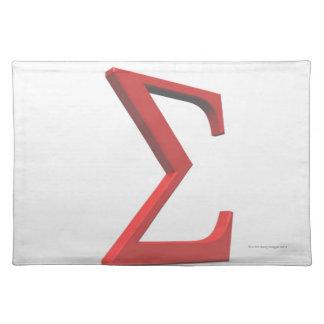 Sigma 2 place mat
