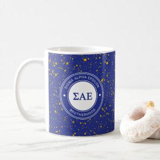 Sigma Alpha Epsilon   Badge Coffee Mug
