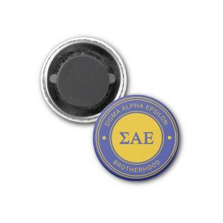 Sigma Alpha Epsilon   Badge Magnet