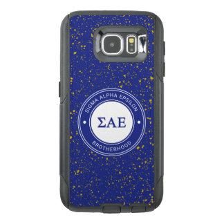 Sigma Alpha Epsilon   Badge OtterBox Samsung Galaxy S6 Case