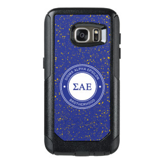 Sigma Alpha Epsilon | Badge OtterBox Samsung Galaxy S7 Case