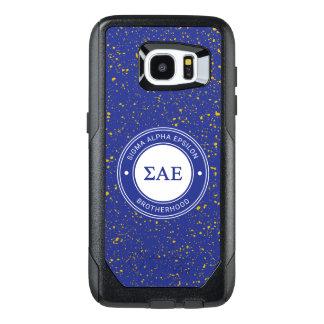 Sigma Alpha Epsilon   Badge OtterBox Samsung Galaxy S7 Edge Case