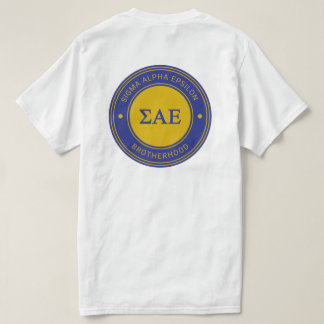 Sigma Alpha Epsilon | Badge T-Shirt