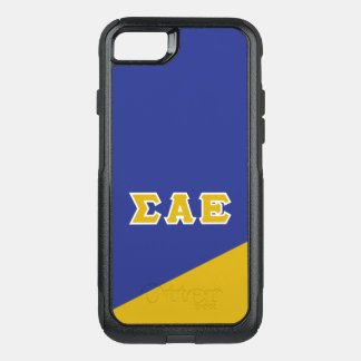 Sigma Alpha Epsilon | Greek Letters OtterBox Commuter iPhone 8/7 Case