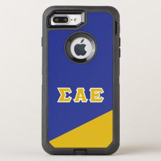 Sigma Alpha Epsilon   Greek Letters OtterBox Defender iPhone 8 Plus/7 Plus Case