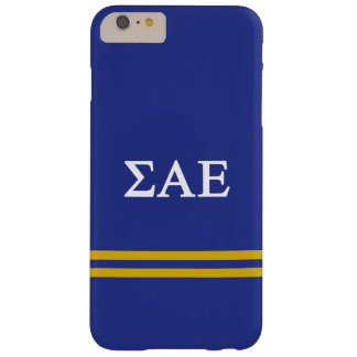 Sigma Alpha Epsilon | Sport Stripe Barely There iPhone 6 Plus Case