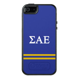 Sigma Alpha Epsilon | Sport Stripe OtterBox iPhone 5/5s/SE Case