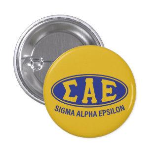 Sigma Alpha Epsilon | Vintage 3 Cm Round Badge