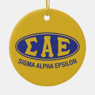 Sigma Alpha Epsilon | Vintage Ceramic Ornament