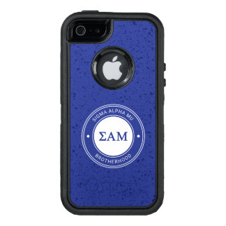 Sigma Alpha Mu | Badge OtterBox iPhone 5/5s/SE Case