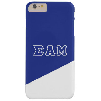 Sigma Alpha Mu   Greek Letters Barely There iPhone 6 Plus Case