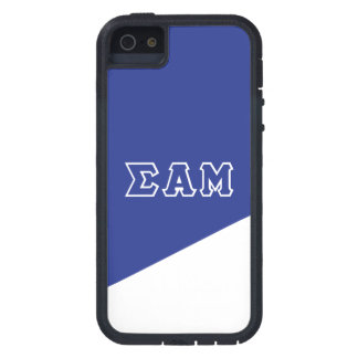 Sigma Alpha Mu | Greek Letters iPhone 5 Cover