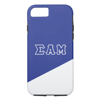 Sigma Alpha Mu | Greek Letters iPhone 8/7 Case