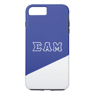 Sigma Alpha Mu | Greek Letters iPhone 8 Plus/7 Plus Case