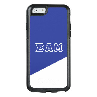 Sigma Alpha Mu | Greek Letters OtterBox iPhone 6/6s Case