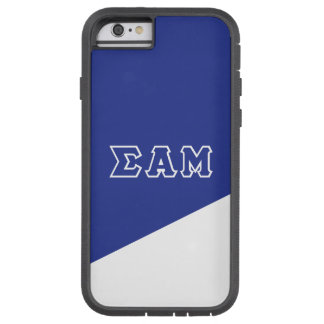 Sigma Alpha Mu | Greek Letters Tough Xtreme iPhone 6 Case