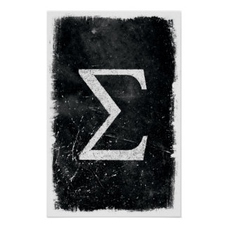Sigma Art - Math Posters