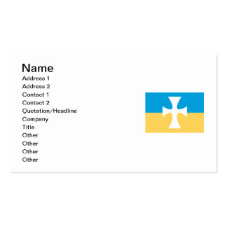Sigma Chi Flag Pack Of Standard Business Cards