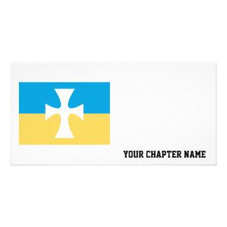 Sigma Chi Flag Photo Card