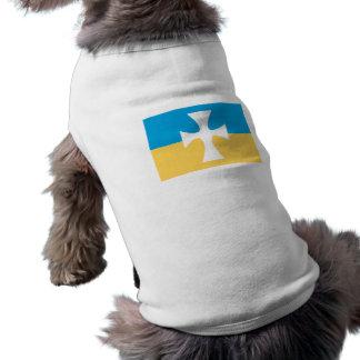 Sigma Chi Flag Sleeveless Dog Shirt