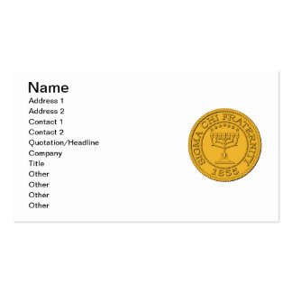 Sigma Chi Grand Seal Color Pack Of Standard Business Cards