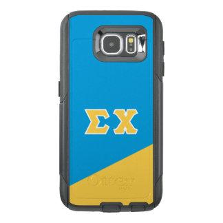 Sigma Chi | Greek Letters OtterBox Samsung Galaxy S6 Case