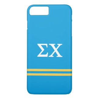 Sigma Chi | Sport Stripe iPhone 8 Plus/7 Plus Case