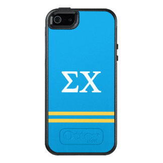 Sigma Chi | Sport Stripe OtterBox iPhone 5/5s/SE Case