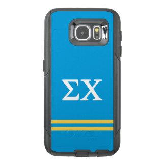 Sigma Chi | Sport Stripe OtterBox Samsung Galaxy S6 Case