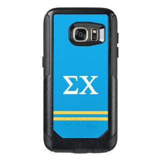 Sigma Chi | Sport Stripe OtterBox Samsung Galaxy S7 Case