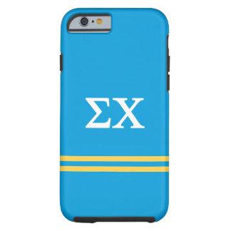 Sigma Chi | Sport Stripe Tough iPhone 6 Case