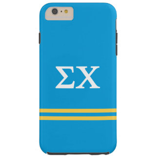 Sigma Chi | Sport Stripe Tough iPhone 6 Plus Case