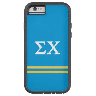 Sigma Chi | Sport Stripe Tough Xtreme iPhone 6 Case