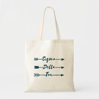 Sigma Delta Tau | Arrow Tote Bag