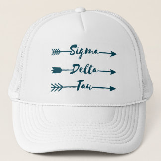 Sigma Delta Tau | Arrow Trucker Hat