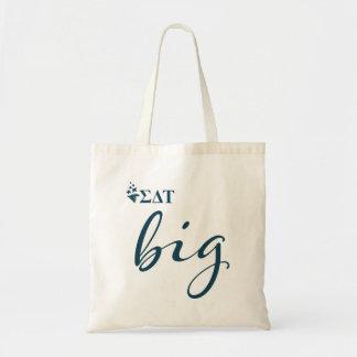 Sigma Delta Tau | Big Script Tote Bag