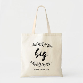 Sigma Delta Tau | Big Wreath Tote Bag