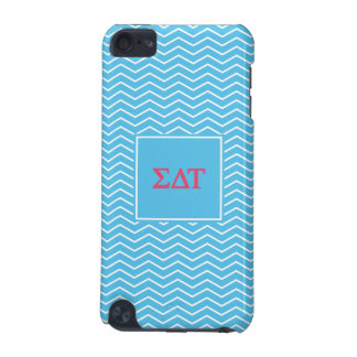 Sigma Delta Tau | Chevron Pattern iPod Touch 5G Cases