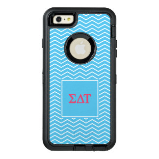 Sigma Delta Tau | Chevron Pattern OtterBox iPhone 6/6s Plus Case