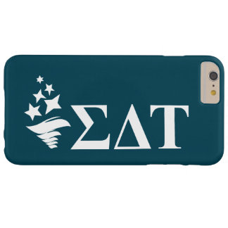 Sigma Delta Tau   Lil Big Logo Barely There iPhone 6 Plus Case