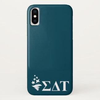 Sigma Delta Tau   Lil Big Logo iPhone X Case