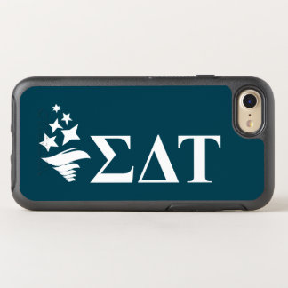 Sigma Delta Tau | Lil Big Logo OtterBox Symmetry iPhone 8/7 Case