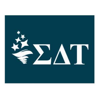 Sigma Delta Tau | Lil Big Logo Postcard