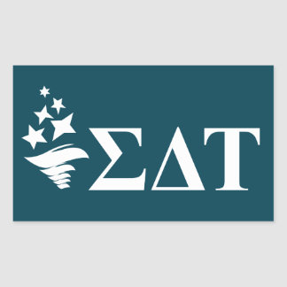 Sigma Delta Tau | Lil Big Logo Rectangular Sticker