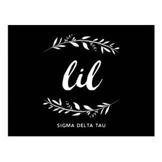 Sigma Delta Tau | Lil Wreath Postcard
