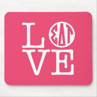 Sigma Delta Tau | Love Mouse Pad