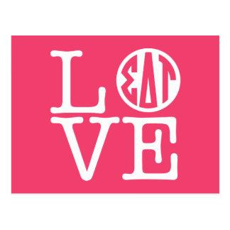 Sigma Delta Tau | Love Postcard